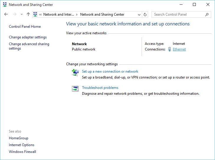 حل مشکل وصل نشدن اینترنت در ویندوز 10 با غیر فعال کردن IPv6