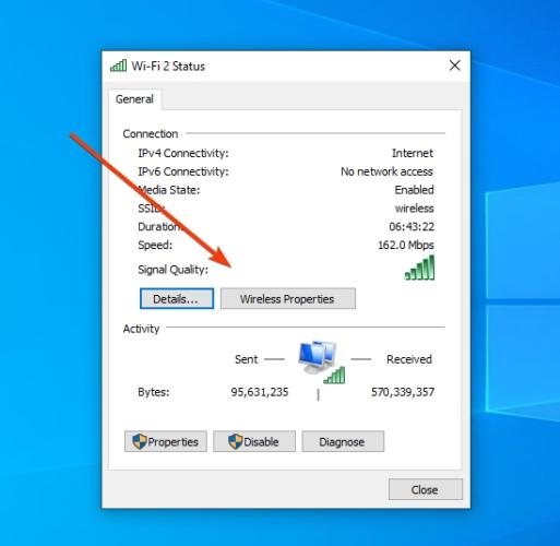 چگونه مشکل اتصال به اینترنت در ویندوز 10 را رفع کنیم؟؟ بررسی پروتکل امنیتی