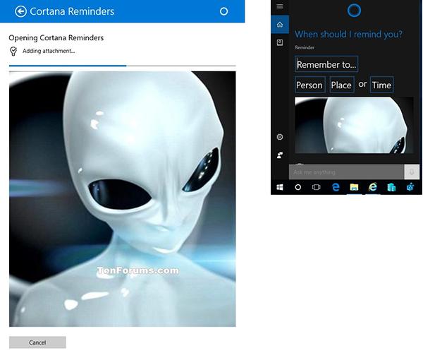 گزینه اشتراک گذاری در ویندوز1010