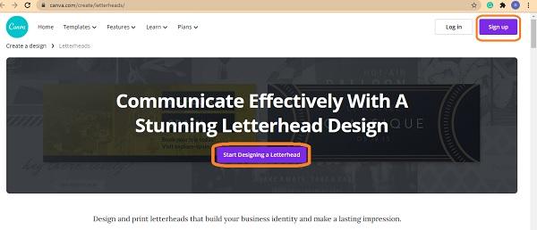 ۵ سرویس برتر طراحی سربرگ آنلاین رایگان