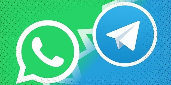 انتقال چت و داده ها از واتساپ به تلگرام