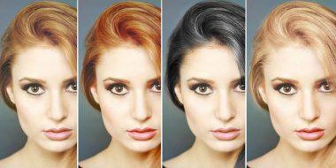 آمورش تصویری 3 روش تغییر رنگ مو در فتوشاپ