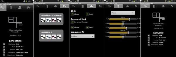 برنامه EOps Headset App