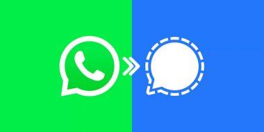 آموزش روش انتقال اطلاعات واتساپ به برنامه سیگنال