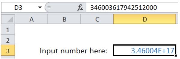 چرا در اکسل اعداد رند می شود؟ رفع مشکل رند شدن اعداد در اکسل برای اعداد بزرگ
