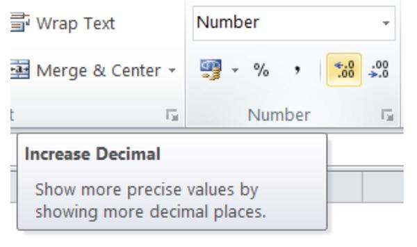 چگونه در اکسل اعداد رند نشوند؟ متوقف کردن فرایند گرد کردن اعداد