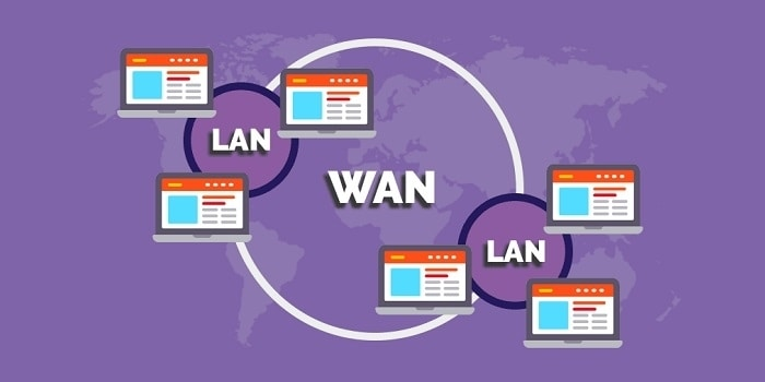 تفاوت بین شبکه LAN و WAN