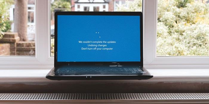 آموزش 9 روش حل مشکل ارور undoing changes made to your computer ویندوز