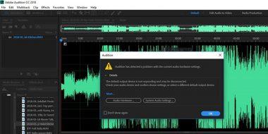 آموزش 8 روش حل مشکل صدا در Adobe Audition : ضبط ، پخش ، اکو و..