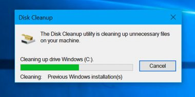آموزش کار با Disk Cleanup و Free Up Space ویندوز 10 ، 8 و 7