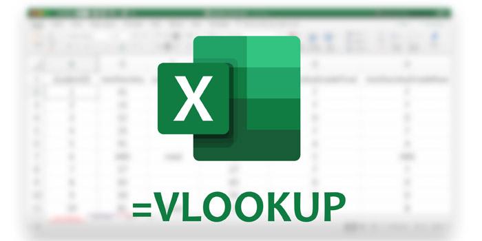 آموزش کامل تصویری کار با فرمول و تابع VLOOKUP اکسل