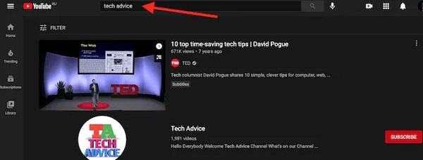 نحوه دیدن ویدیوهای پربازدید یوتیوب