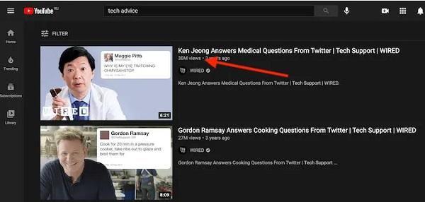 کانال های پربازدید یوتیوب