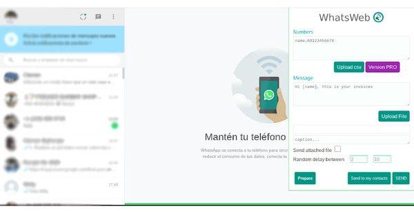 با WhatsWeb پیام های گروهی را به WhatsApp ارسال کنید