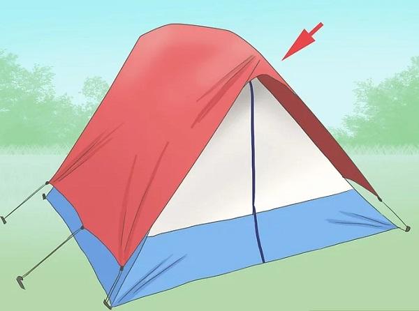 نصب و بستن چادر مسافرتی