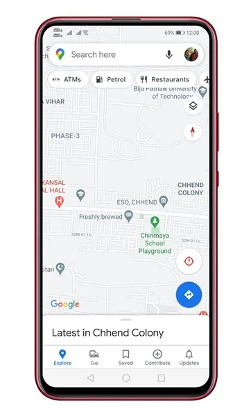 چگونه می توان یک دستگاه خودپرداز نزدیک را با Google Maps پیدا کرد