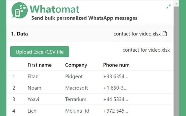 پیام های WhatsApp را با Whatomat به صورت نامحدود ارسال کنید