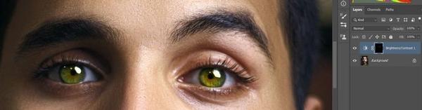تغییر رنگ چشم در فتوشاپ (تغییر رنگ چشم مشکی در فتوشاپ)