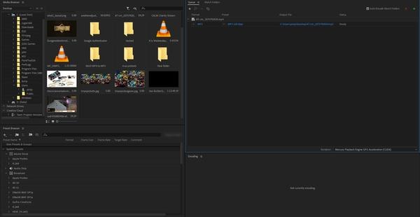 برنامه تبدیل فرمت MP4 به MP3 برای کامپیوتر Adobe Media Encoder