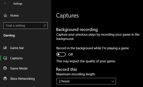 غیر فعال کردن Game Bar و ضبط پس زمینه برای حل مشکل کند بودن بازی ها در ویندوز 10