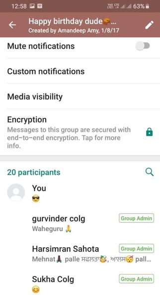 چطور در واتساپ شماره را مخفی کنیم؟ مخفی سازی شماره در گروه واتساپ