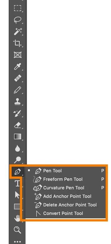 ابزار Pen فتوشاپ