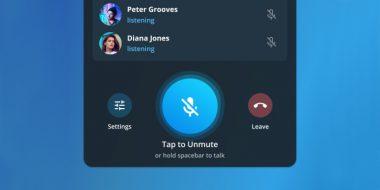 آموزش کامل ساخت ویس چت گروهی در تلگرام