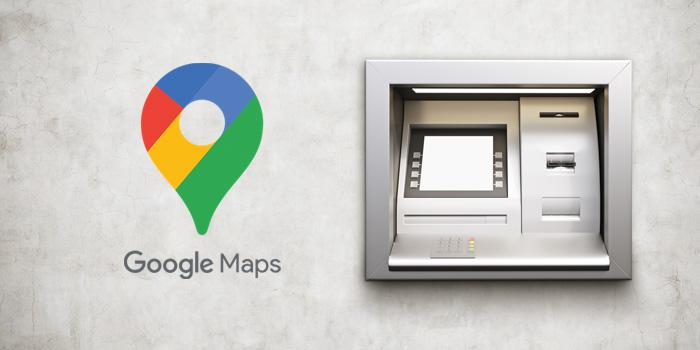 آموزش پیدا کردن نزدیک ترین ATM روی نقشه گوگل مپ