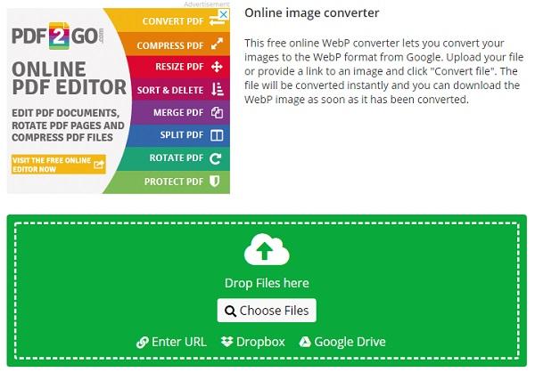 قالب تصویر را به وب تبدیل کنید
