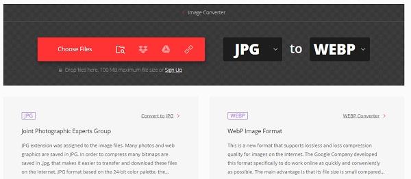 عکس ها را در قالب وب ذخیره کنید