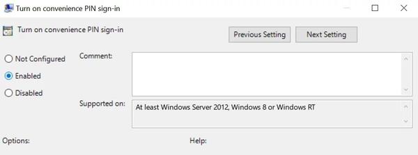 خط مشی تصحیح خطای گروه در Windows سلام در این دستگاه در دسترس نیست