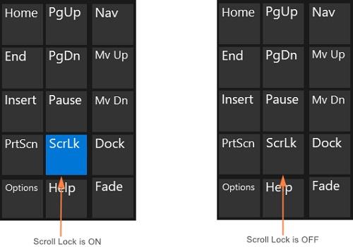 کلیدهای shift در اکسل کار نمی کنند