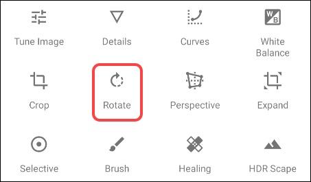 چرخاندن عکس ها در Android