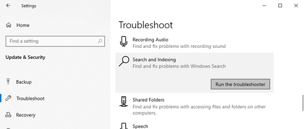 برای رفع خطای متوقف شده Windows Explorer در ویندوز از Windows Troubleshooter استفاده کنید