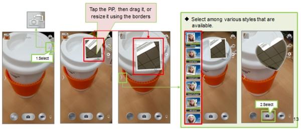 نحوه استفاده از تلفن دوربین دوگانه سامسونگ در برخی مدل ها با عملکرد حالت دوربین دوگانه