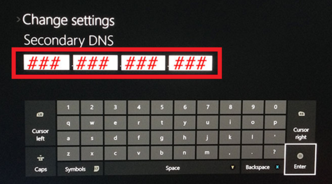 DNS را در Xbox تنظیم کنید