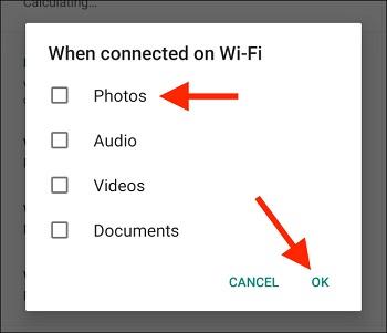 از ذخیره و نمایش عکس ها و فیلم های WhatsApp در گالری خودداری کنید