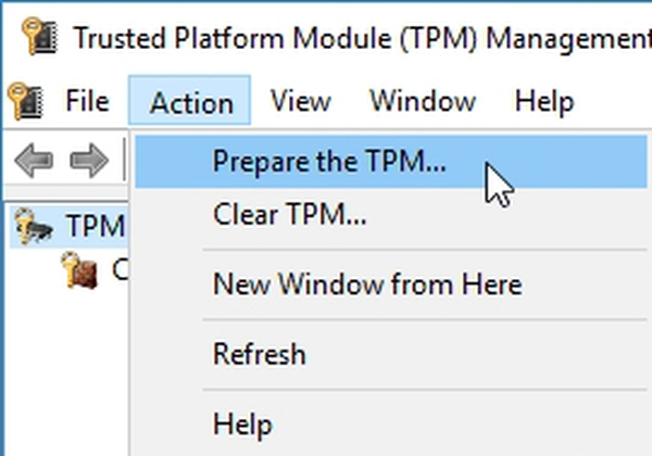 تنظیم TPM