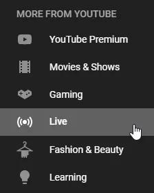 چگونه در لایو یوتیوب شرکت کنیم؟