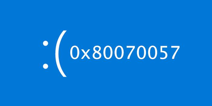 15 روش کارساز رفع ارور 0x80070057 ویندوز 10 ، 8 و 7