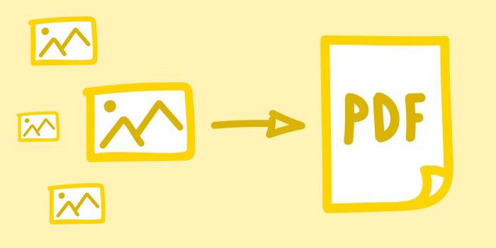 آموزش 11 روش تبدیل گروهی چند عکس به یک فایل PDF
