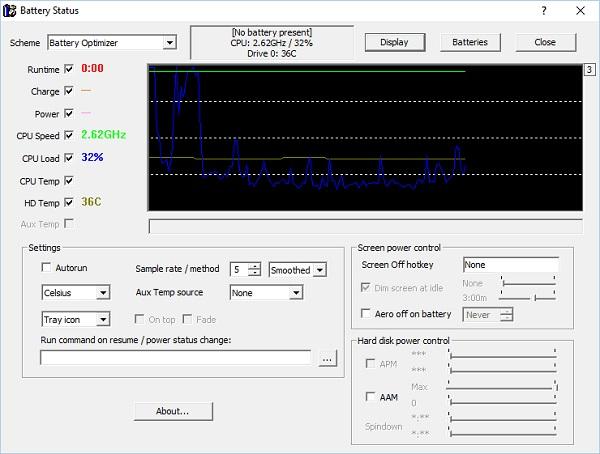 بررسی سلامت باتری لپ تاپ