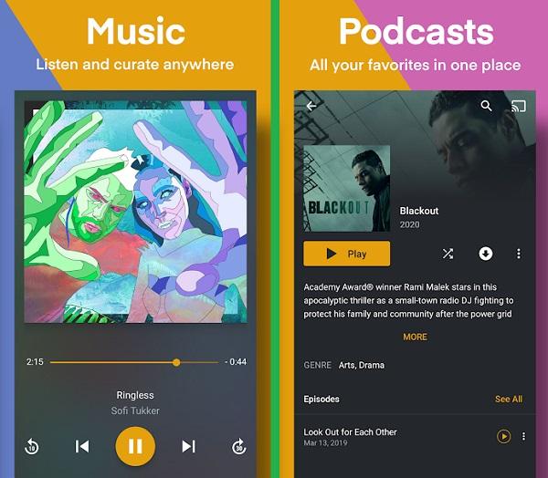 برنامه های جایگزین گوگل پلی موزیک