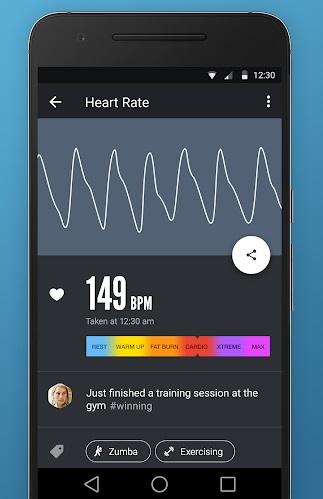 بررسی ضربان قلب و تنفس در اندروید