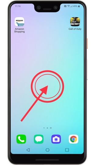 اضافه کردن ویجت به صفحه اصلی گوشی