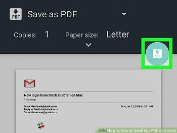آموزش 10 روش تبدیل ایمیل به PDF در جیمیل ، یاهو ، اوت لوک و...