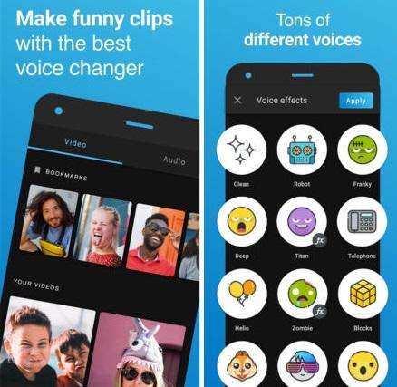 11 مورد از بهترین تغییرات صوتی را در Android مشاهده و بارگیری کنید