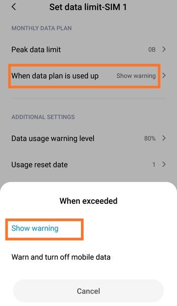 5 روش غیرفعال کردن و حذف خطای هشدار مصرف داده Android را بیاموزید