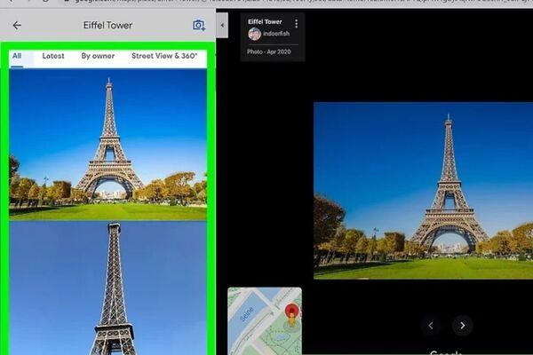 دانلود عکس از گوگل مپ