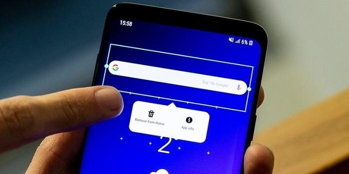 آموزش 5 روش حذف ویجت سرچ گوگل از صفحه اصلی اندروید